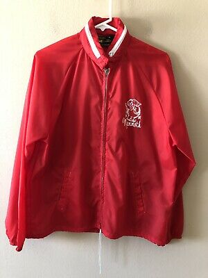 Vintage Men's Mammoth Ski Resort Rain Jacket/Windbreaker Size Medium