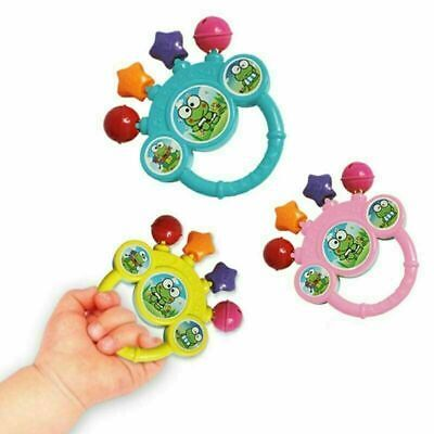 1X Cartoon Infant Baby Bell Rattles Newborns Toys Hand Toy For Kids Music Toy