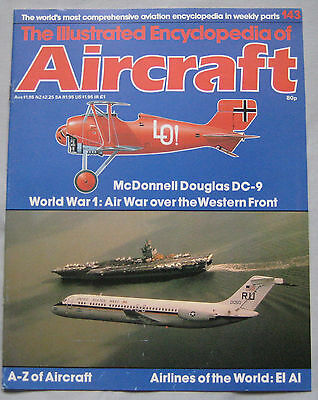 Aircraft Issue 143 McDonnell Douglas DC-9 & MD-80 cutaway drawing
