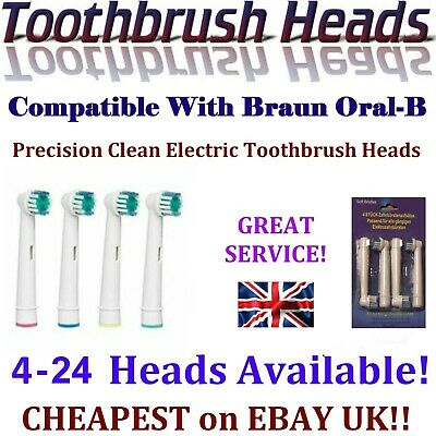 Electric Toothbrush Heads Compatible With Oral B Oral-B Oralb Braun Toothbrush