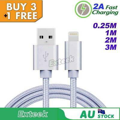 Lightning USB Cable Charger for iPhone X 8 7 6s 5s 5 iPad Cord Sync Data