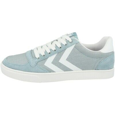 Hummel Slimmer Stadil Duo Canvas Low Cut Sneaker Retro Schuhe blue 64-411-8543