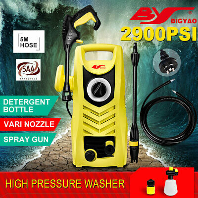 2900PSI High Pressure Washer Electric Outdoor Car Cleaner Pump Hose AU STOCK