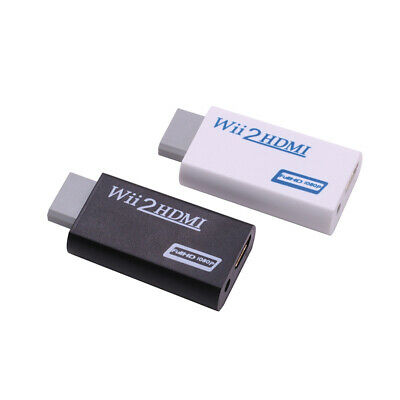 Quality Wii HDMI 1080p Wii To HDMI Converter 3.5mm Adapter Audio HD Video Output