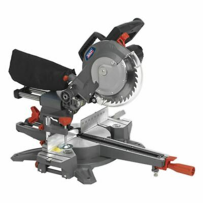 Sealey Double Sliding Compound Mitre Saw 216mm SMS216