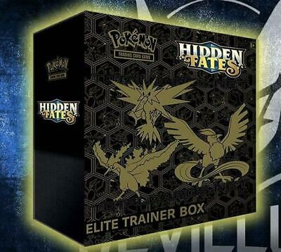 Pokemon Hidden Fates Elite Trainer Box (10 Boosters+Promo+More!)