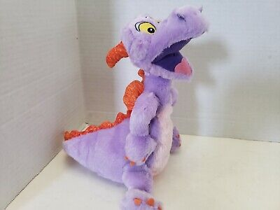 "Disney Parks Figment Epcot Purple Dragon 9"" Plush Doll Disneyland Resort"
