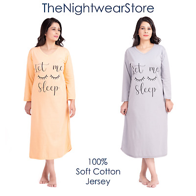 Women summer nightdress 100% premium Cotton for ladies sizes from 12, 24 and 28