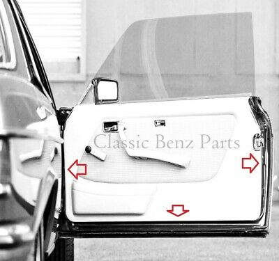 Free express shipping Mercedes W123 Sunroof Seal Gasket Kit