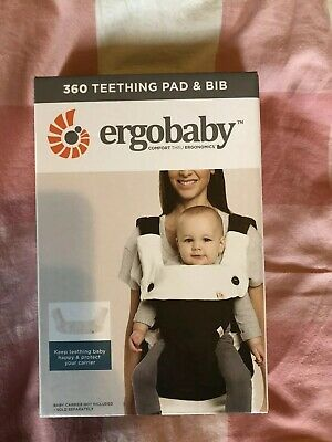 Ergobaby 360 Teething Pad And Bib Unopened New