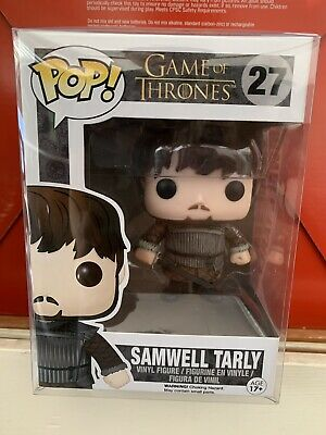 Funko Pop! Samwell Tarly Game Of Thrones GOT *NEW *Protector *Vaulted