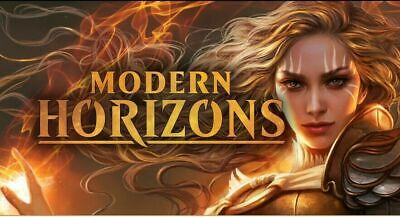 1x MTG Magic the Gathering Modern Horizons Complete Set with Art and Token Sets