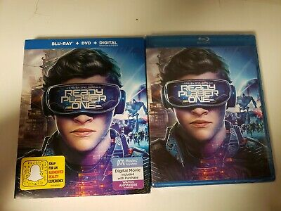 Ready Player One (Blu-Ray)w/slipcover