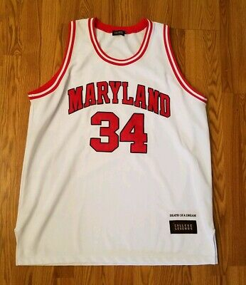 release date: b0df4 386fd LEN BIAS MARYLAND Terrapins Tribute Collage Matted Photo ...
