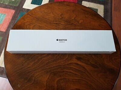 SEALED Apple Watch Series 3 42mm Space Gray Aluminum Black Sport Band MTF32LL/A