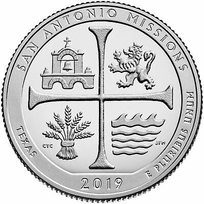 Texas P & D San Antonio Missions National Historical Park  2 Quarter Pre Sale