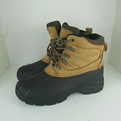 32ac136c546 DONNER MOUNTAIN MENS 12 M Boots Insulated Waterproof Kohler Duck Winter Snow