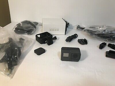 GoPro HERO5 Action Camera 4k - HUGE accessory Bundle, 32gb SD card, more