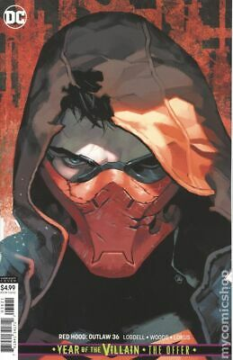 Red Hood and the Outlaws #36B 2019 Putri Variant VF Stock Image