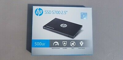 "HP S700 2.5"" 500GB SATA III 3D NAND Internal SSD Solid State Drive, 2DP99AA#ABC"