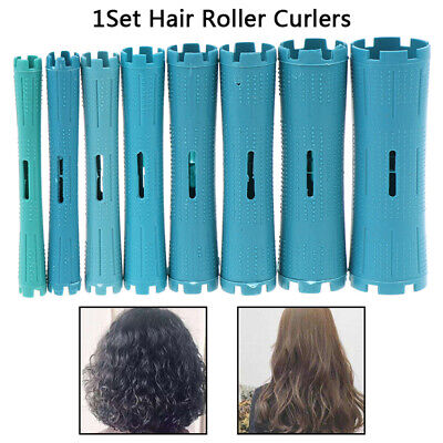 1 Set Hairdressing Styling Tool Hair Roller Curlers Hair Clip Curler DIY Tool
