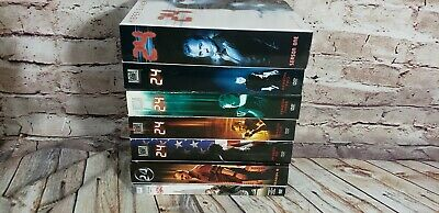 24 The Complete Series 1-8 set seasons 1 2 3 4 5 6 7 8 TV show lot DVDS