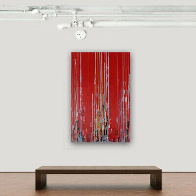 Modern Wall Art Decor On Canvas 100% Hand Painted Oil Painting Abstract Lines