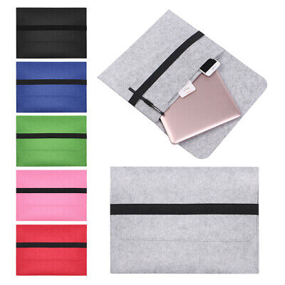 Cover Sleeve Case Notebook Pouch Laptop Bag For MacBook Air Pro Retina 11 13 15