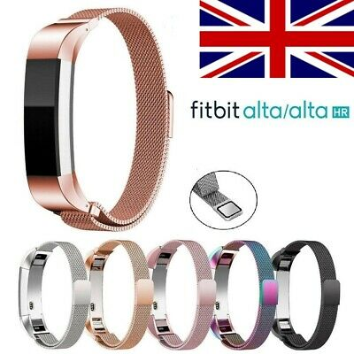 For Fitbit fitbit Alta Strap Replacement Milanese Band Stainless Steel Magnet