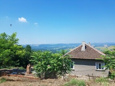 PAY MONTHLY - Bulgarian property TOP VIEWS land and vineyard home in Bulgaria