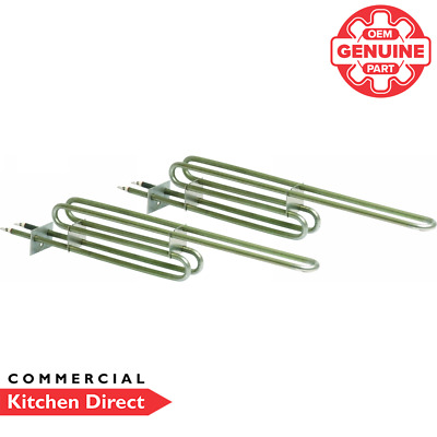 *Genuine Part* Falcon Set Of 2 Bottom Oven Elements - 731412040