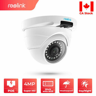 4MP 1440P Add-on PoE Security IP Camera Waterproof Outdoor Audio Reolink D400