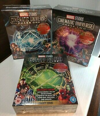 Marvel Studios Cinematic Universe:Phase 1,2 and 3 (Blu-ray,REGION FREE)Brand NEW