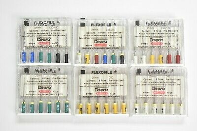 Endodontic Files FLEXOFILE # 6713321,6713331,6713341,6713351,6713361,6713391