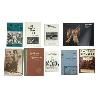 Collection of Western and Native American History Books