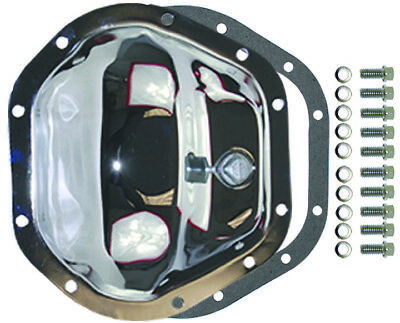 Chrome Steel Jeep /Chevy / Dodge 10 Bolt Dana 44 Differential Cover Kit W/ Bolts