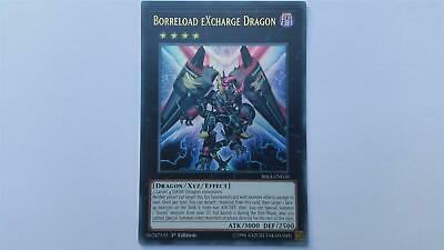"YUGIOH!! ""Borreload eXcharge Dragon"" RIRA-EN039! Ultra Rare! NM! 1. Edition!"