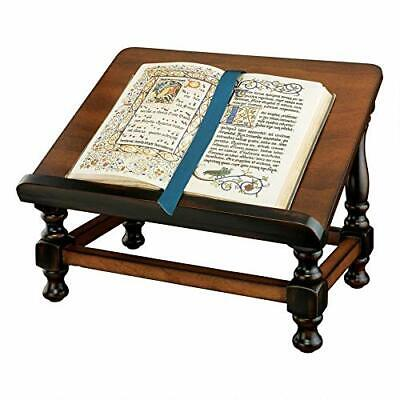 Vintage Book Easel Wooden Stand Display Holder Church Pray Antique Gifts Brown