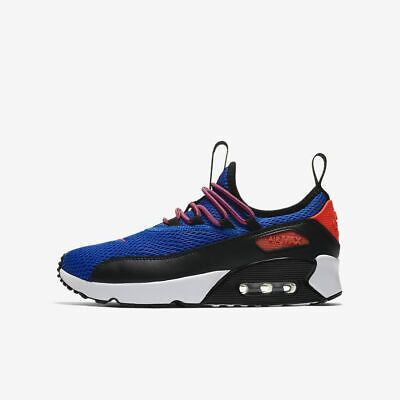 NIKE AIR MAX 95 NOW (GS) Athletic Sneakers Crimson Blue