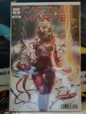 Captain Marvel #8 Carnage-ized Variant Inhyuk Lee NM 1st full appearance of Star