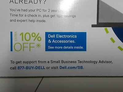 Dell 10% Off Coupon: Dell Electronics And Accessories. Expires 08/11/2019