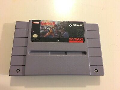 Super Castlevania IV 4 Super Nintendo SNES Authentic Tested Cartridge Only