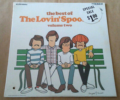 The Best of The Lovin Spoonful Volume two SEALED ORIGINAL Press
