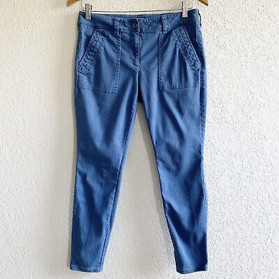 Ann Taylor LOFT Outlet Modern Skinny Ankle Periwinkle Pants Size 6P