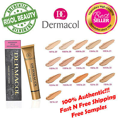 Dermacol High Cover Make-up Foundation Waterproof SPF-30 Real Authentic GENUINE