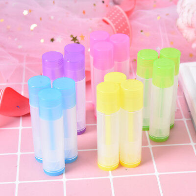 10x empty lip balm lipstick cream tube bottle mouth lip balm stick container SC
