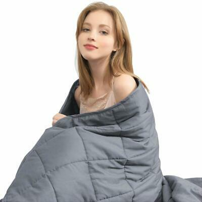 "60x80""/48x72"" Weighted Blanket / Cover Sensory Therapy Deep Sleep Anxiety Relief"