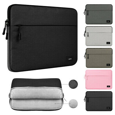 Capacity Pouch Notebook Cover Bag Sleeve Case Laptop For MacBook HP Dell Lenovo
