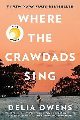 Where the Crawdads Sing Paperback by Delia Owens Women's Friendship Fiction