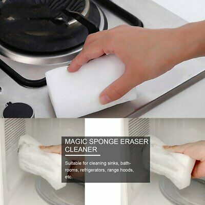 20PCS Magic Sponge Eraser Cleaner Kitchen Office Car Dirty Cleaning Tool MT